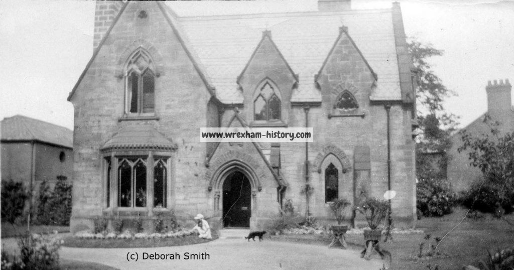 Abbotsfield, Rhosddu Road, Wrexham c1919 (Deborah Smith)