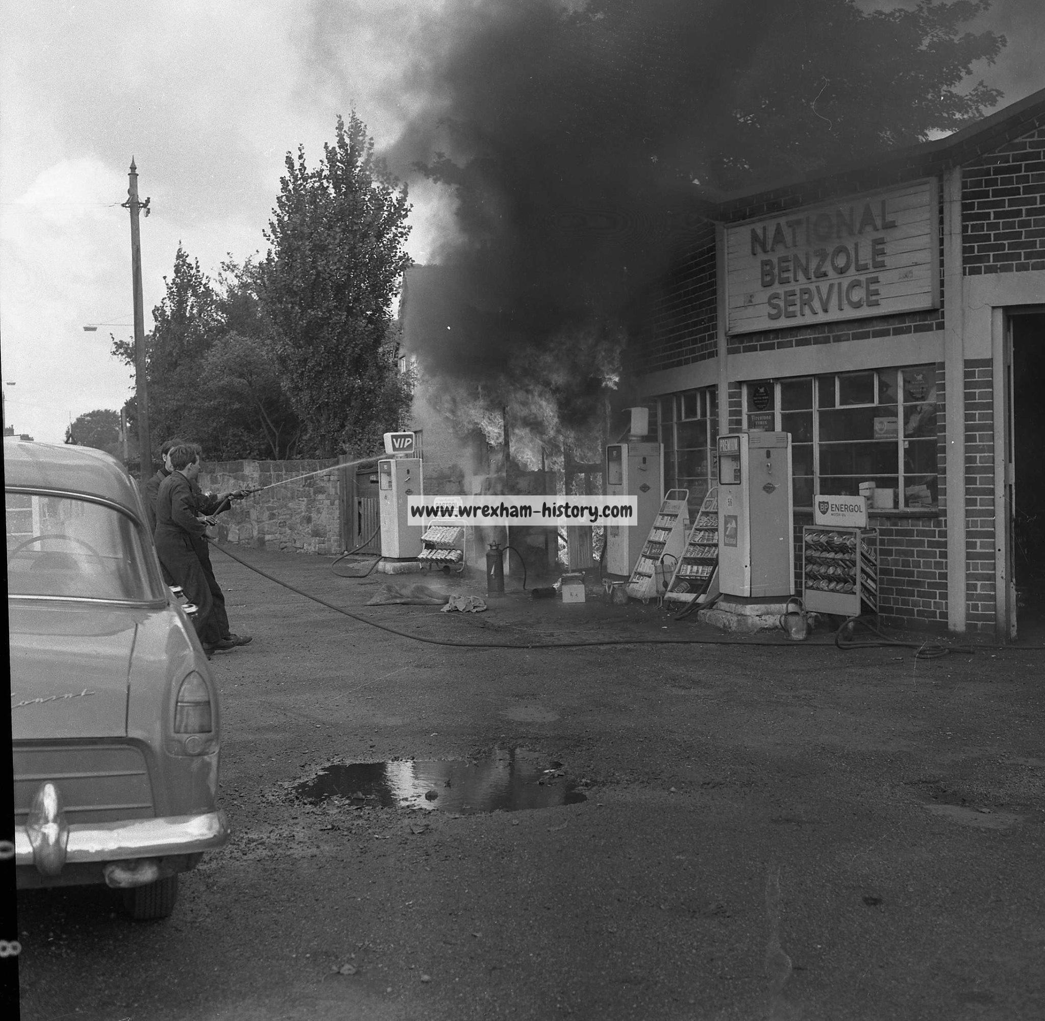 Acton Garage fire