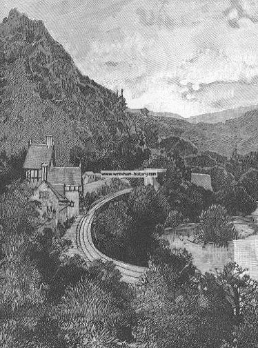 The Dee at Berwyn Station, near Bryntisilio, the residence of Sir Theodore Martin