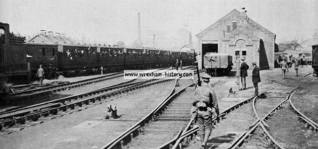 central-station-wrexham-1914