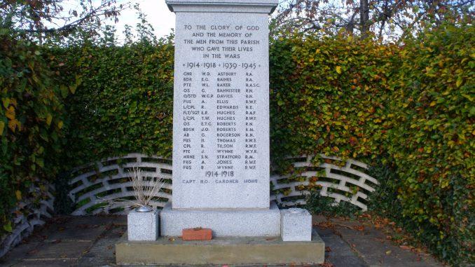 Llay War Memorial