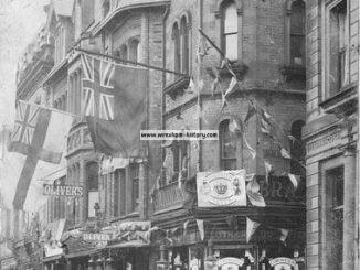 Bradley's Outfitters, Hope Street - Bank Street corner.