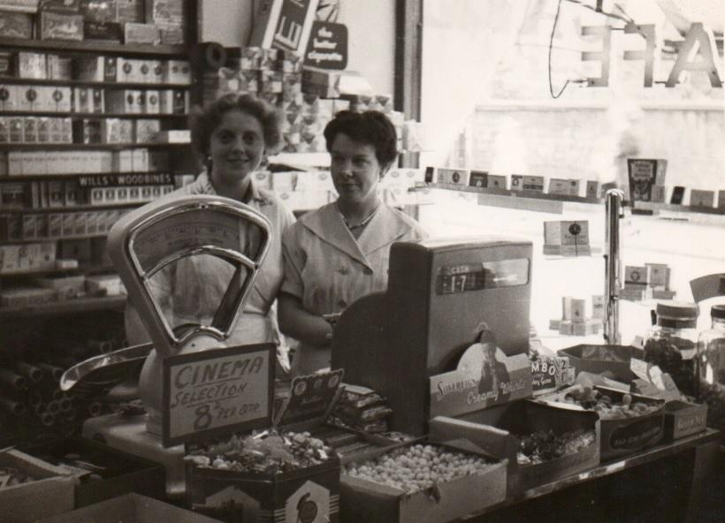 Inside the Dorothy Shop/Cafe