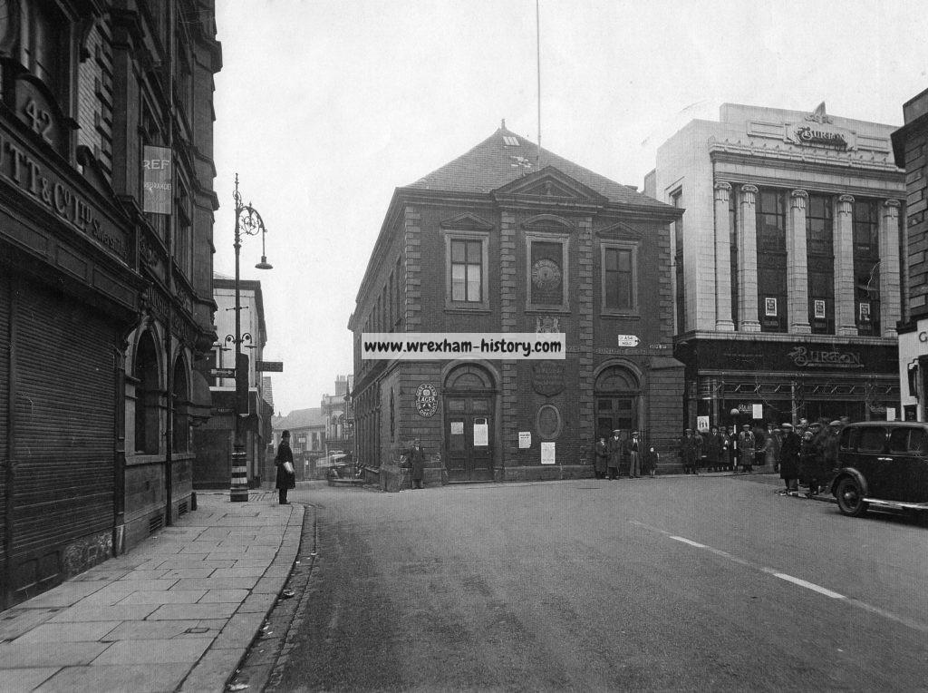 Wrexham Library. Demolished 1940