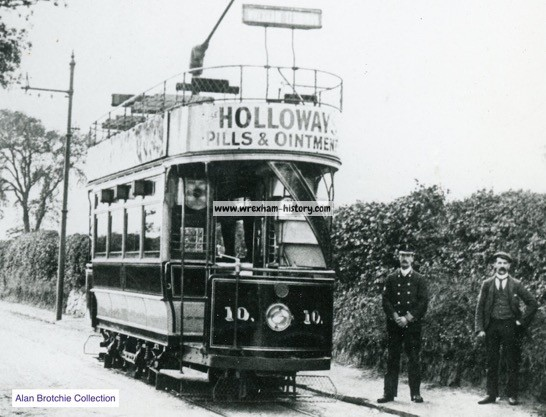 The rattle of the trams in Wrexham