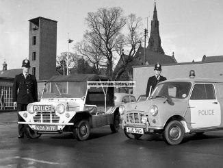 Wrexham Police Vehicles in 1968