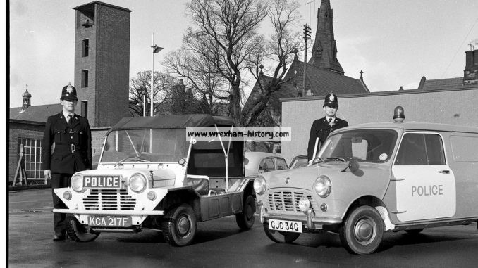 Wrexham Police Vehicles in 1968