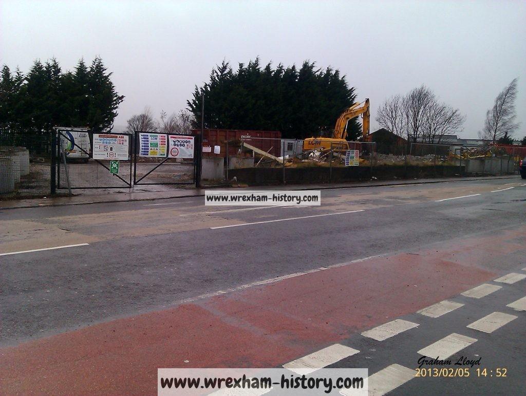 The Former Esso Garage Regent Street Wrexham History