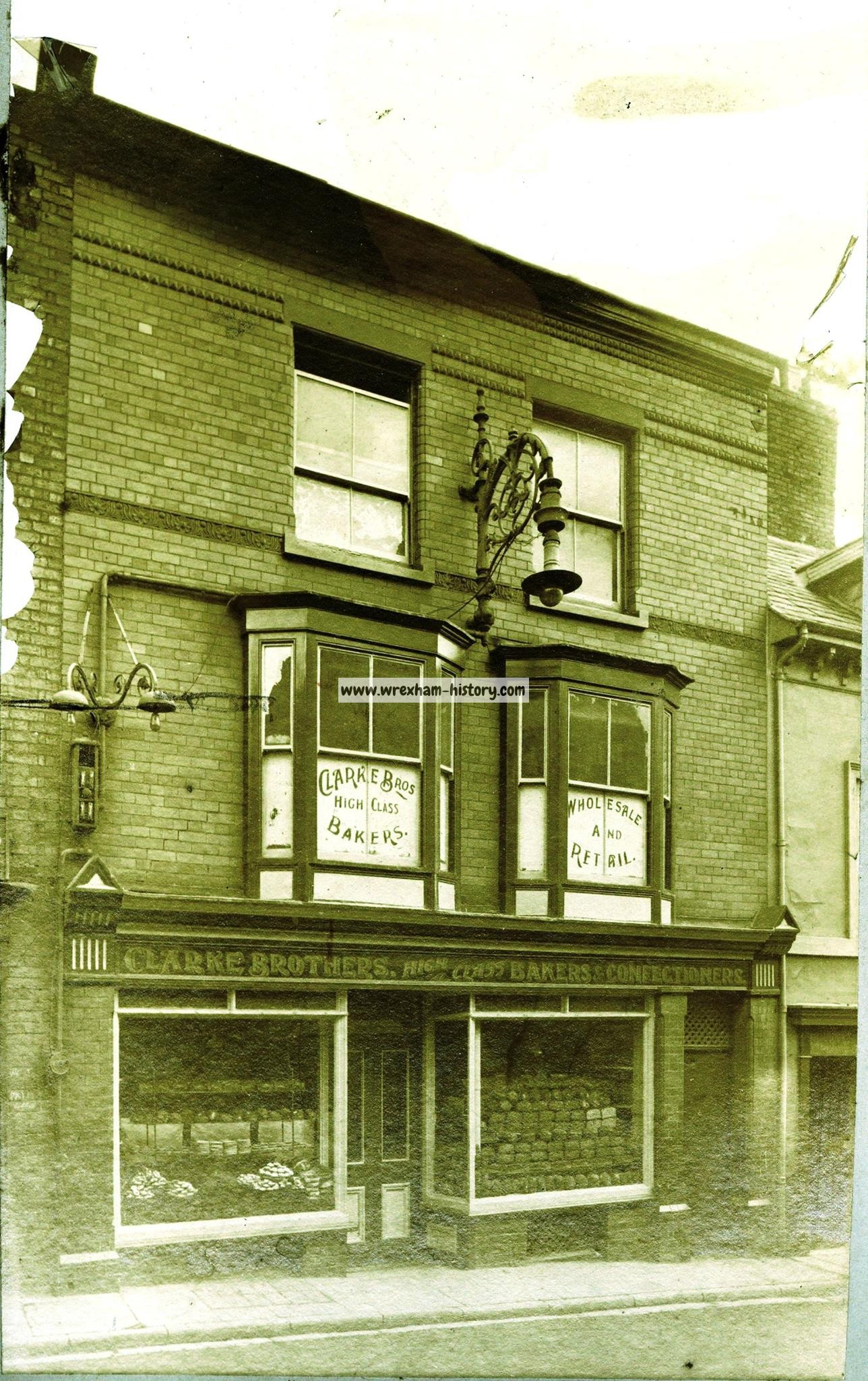 Early 1900s Yorke Street. (Wrexham Museum Collection)