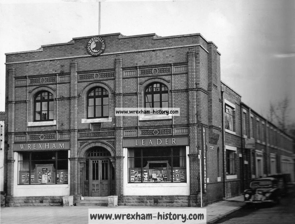The rebuilt Leader Office, Regent Street, Wrexham. 1950