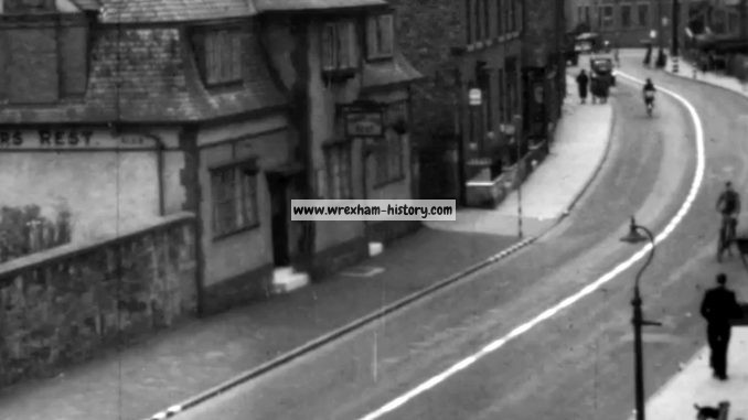 Travellers Rest, Hightown, Wrexham in 1940
