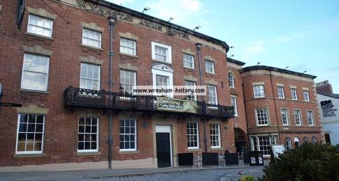 The changing streetscene of High Street, Wrexham