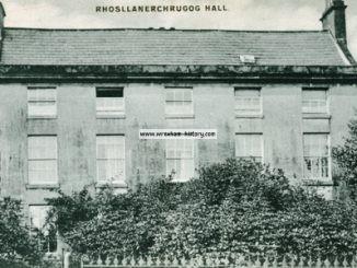 Llanerchrugog Hall, Rhos