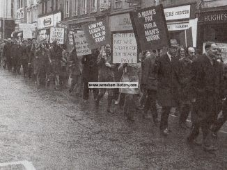 Postal Strike at Wrexham in 1971