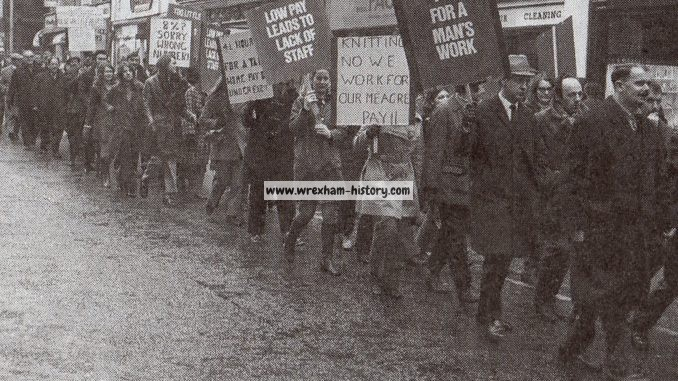 Postal Strike at Wrexham in 1971