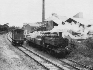 Abenbury Brickworks Sidings 1966