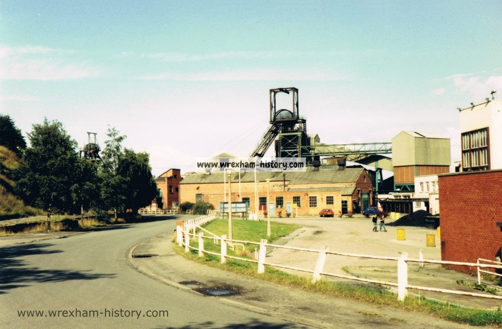 Bersham Colliery in 1980