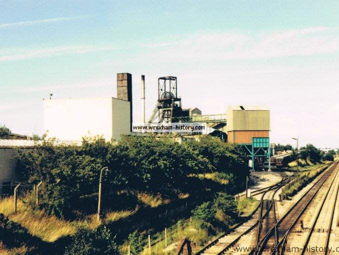 Bersham Colliery in 1980
