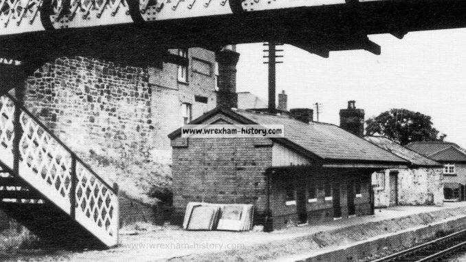 Cefn Railway Station 1960