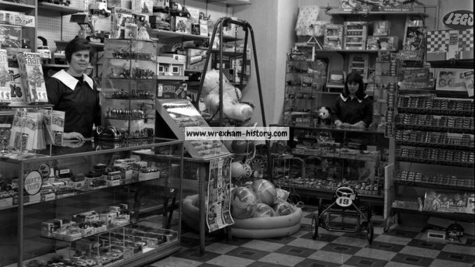 Currys Shop Wrexham 1966