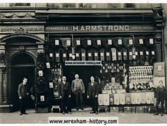 H. Armstrong. Pawnbrokers and General Store, Bridge Street, Wrexham