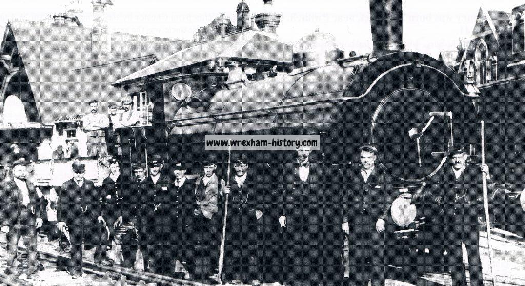 Llangollen Railway Station 1888