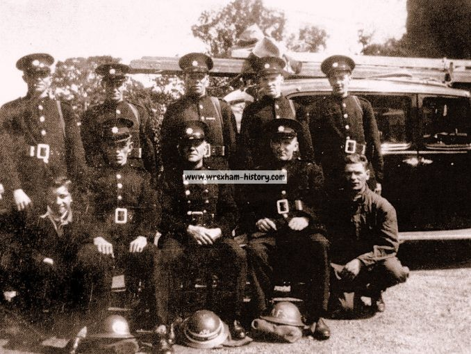 Llay Auxiliary Fire Brigade 1940
