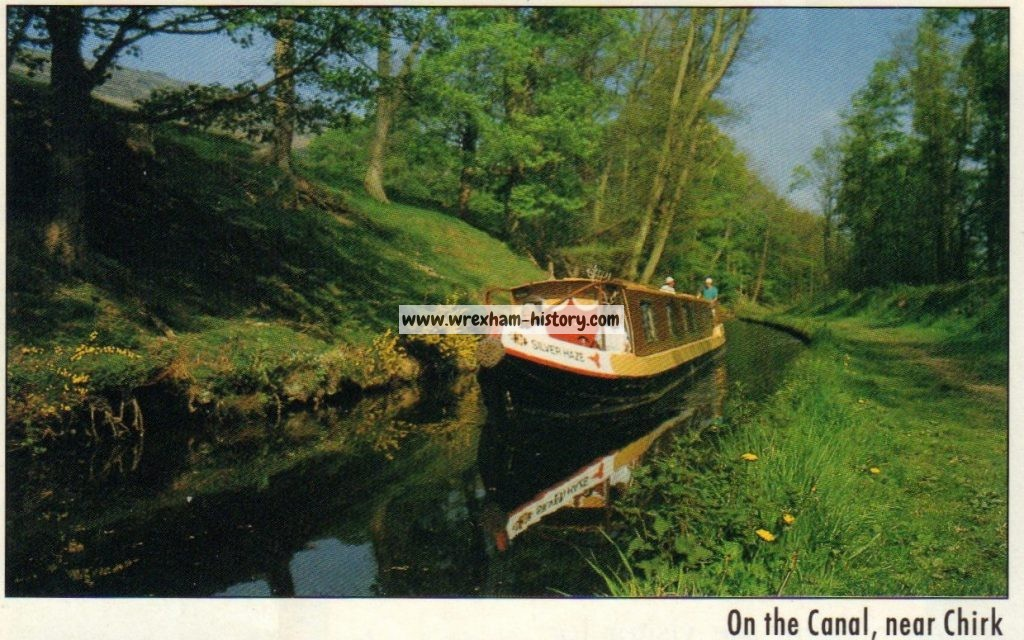On the canal, near Chirk 1995