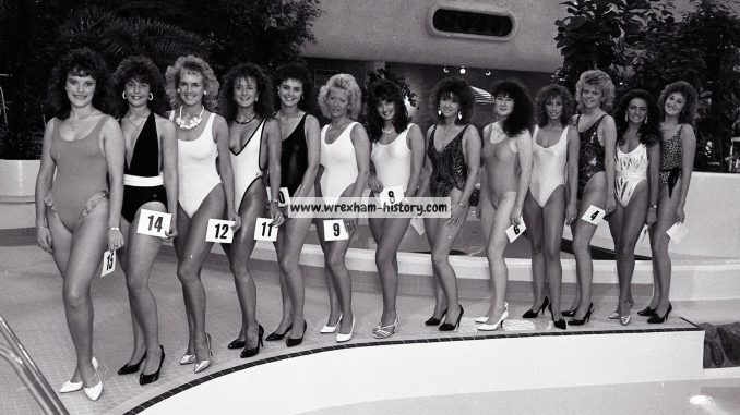 Miss Wrexham in 1988