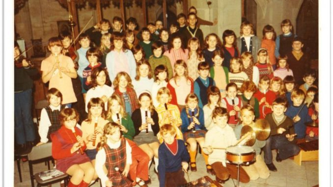 New Broughton Christmas Concert c1970-1