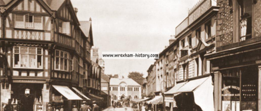 Queen Street, Wrexham in 1908