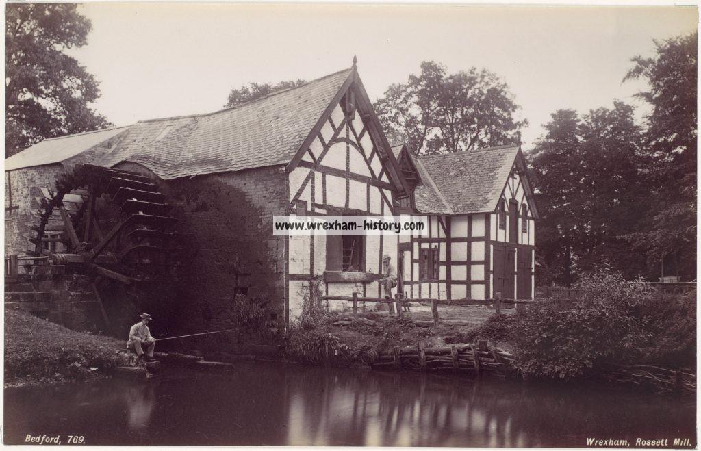Rossett Mill 1870s