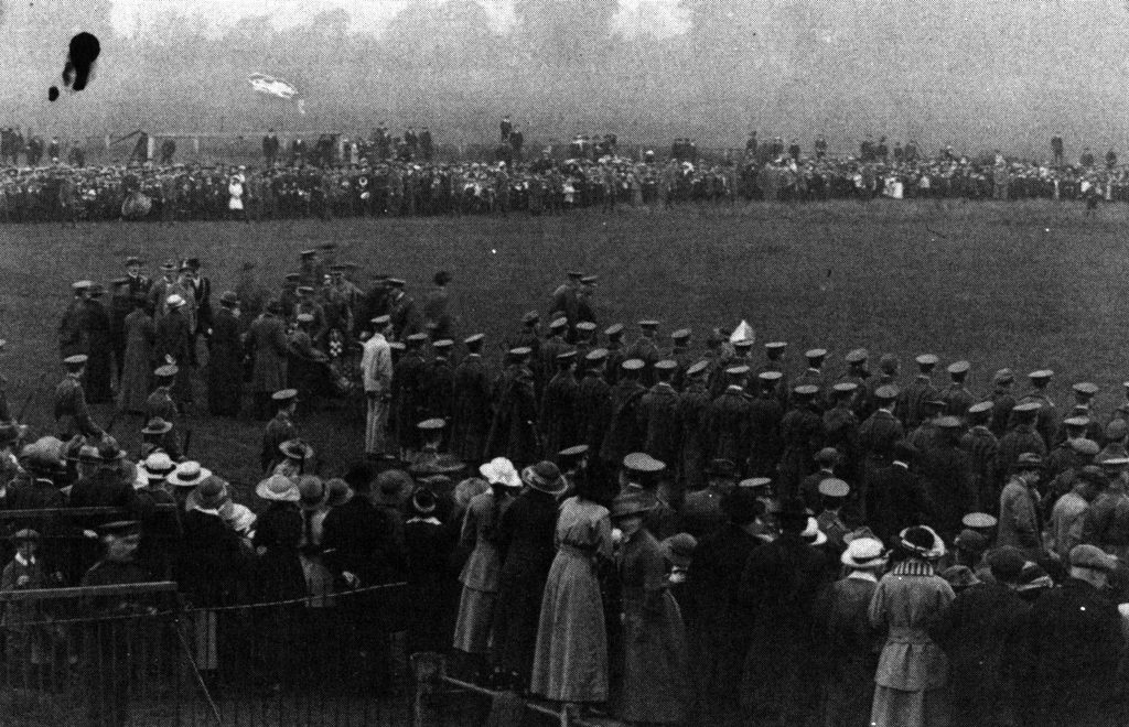The Racecourse Wrexham 1918