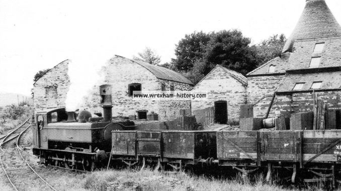 J. C. Edwards Railway Sidings at Trevor in 1957