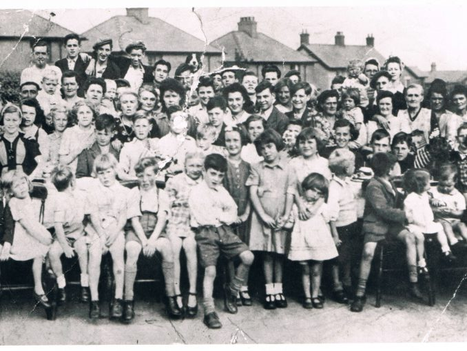VE Day Celebrations at Erw Las, Rhos 1945