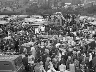 Wrexham Beast Market, 1971