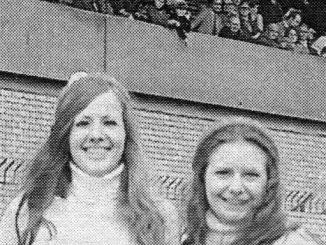 Wrexham F.C. programme sellers 1974