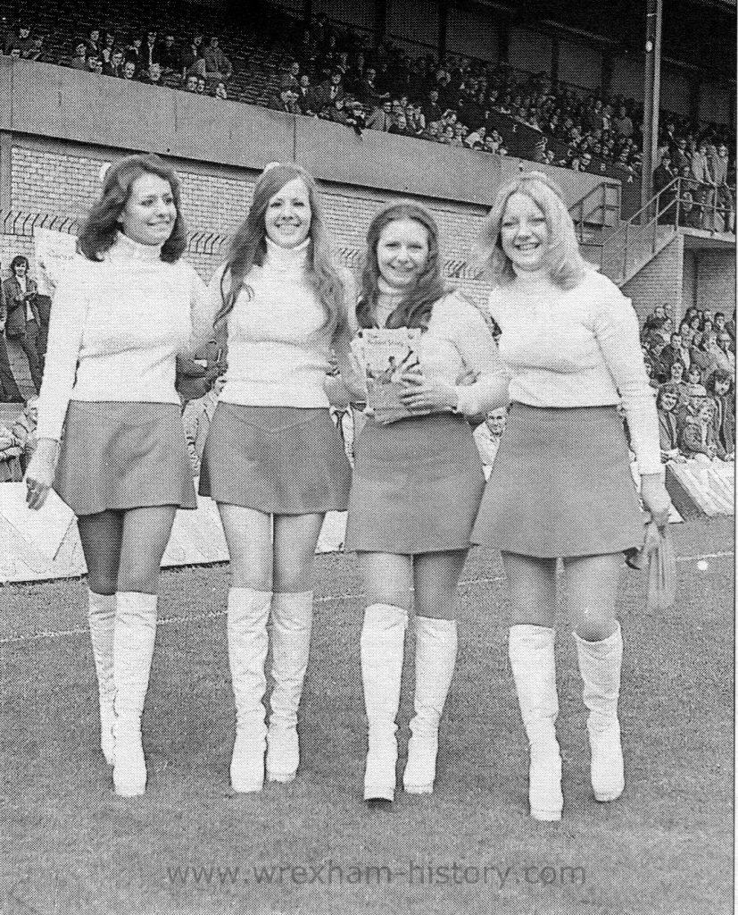 Wrexham F. C. programme sellers 1974