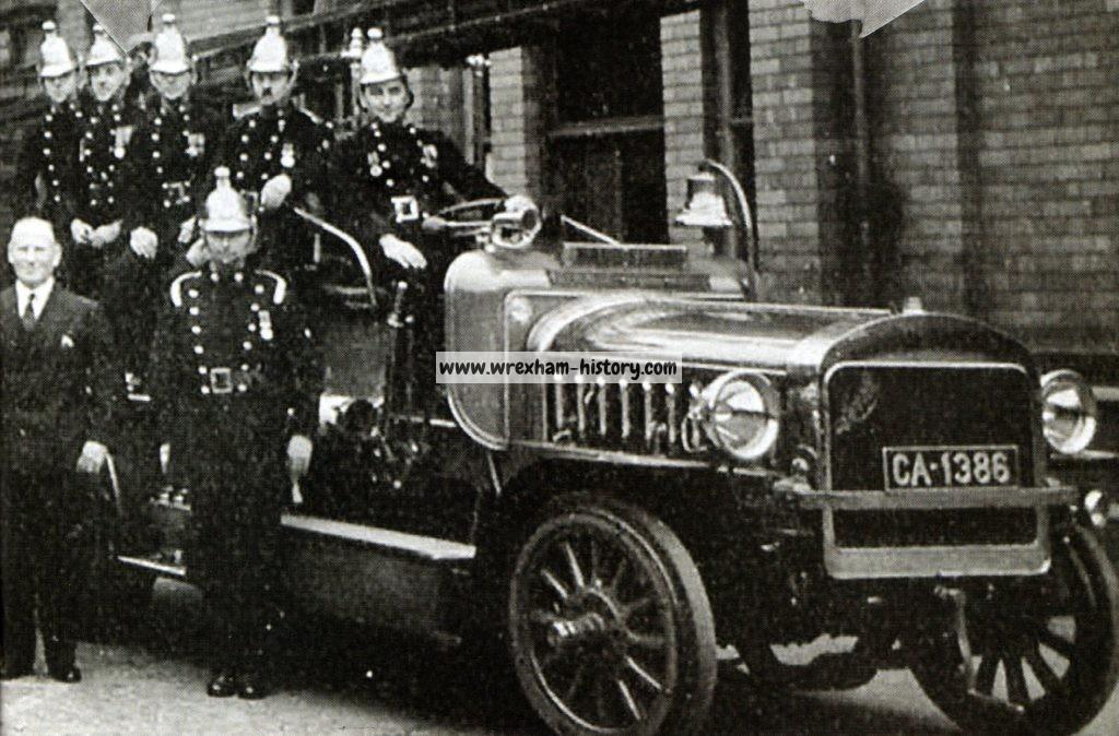 Wrexham Fire Brigade 1930s