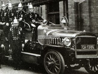 Wrexham Fire Brigade 1930s