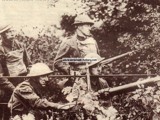 Wrexham Home Guard defend a bridge 1940