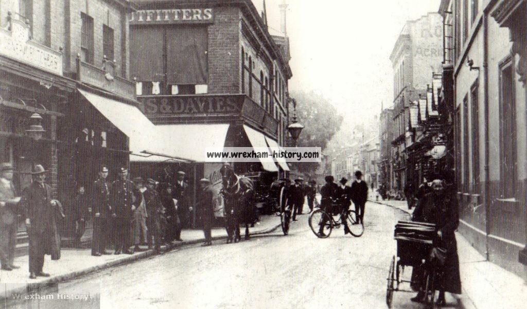 Chester Street, Wrexham 1922