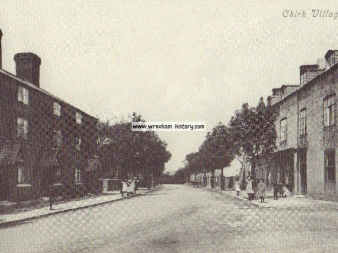 Chirk Village 1908
