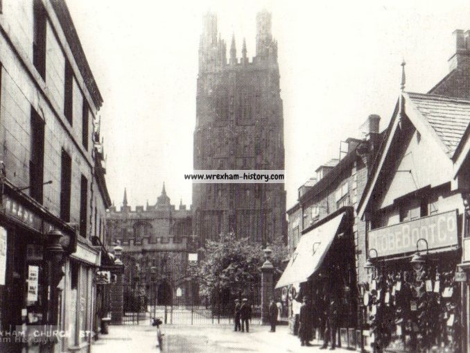 Church Street, Wrexham 1928