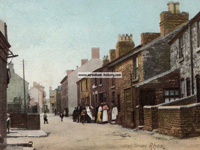 High Street, Rhos c1908
