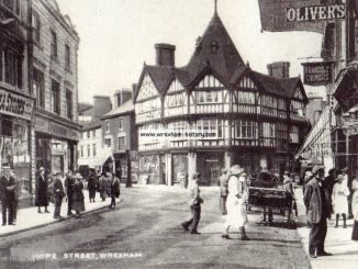 Hope Street, Wrexham 1927