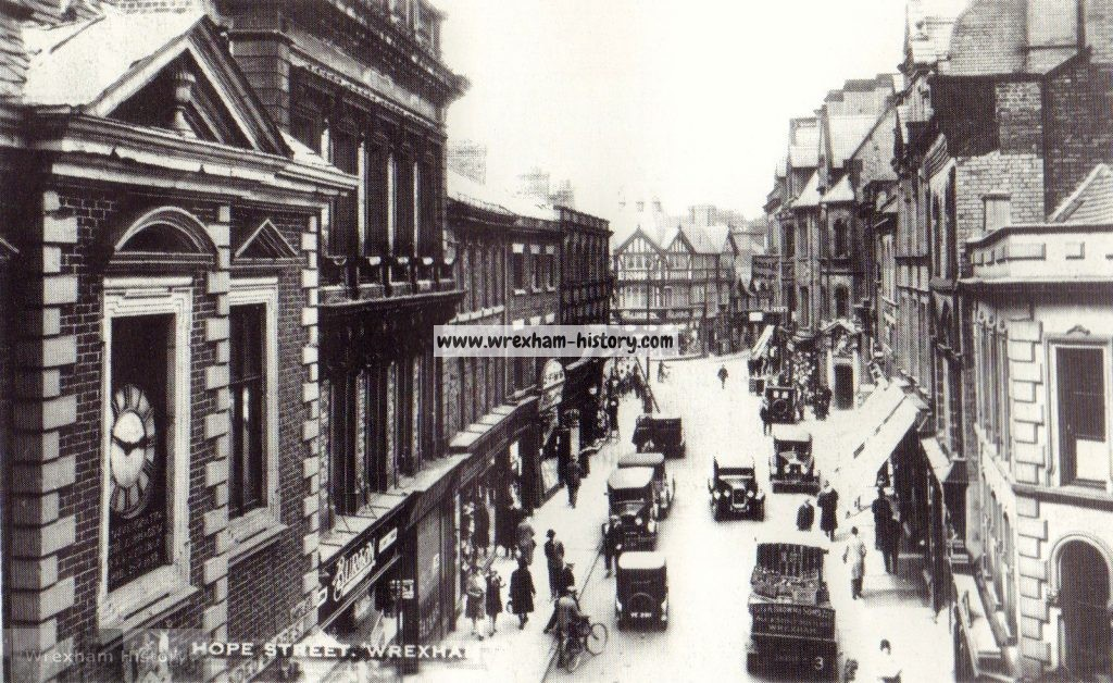 Hope Street, Wrexham 1933