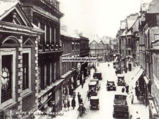 Hope Street, Wrexham 1933