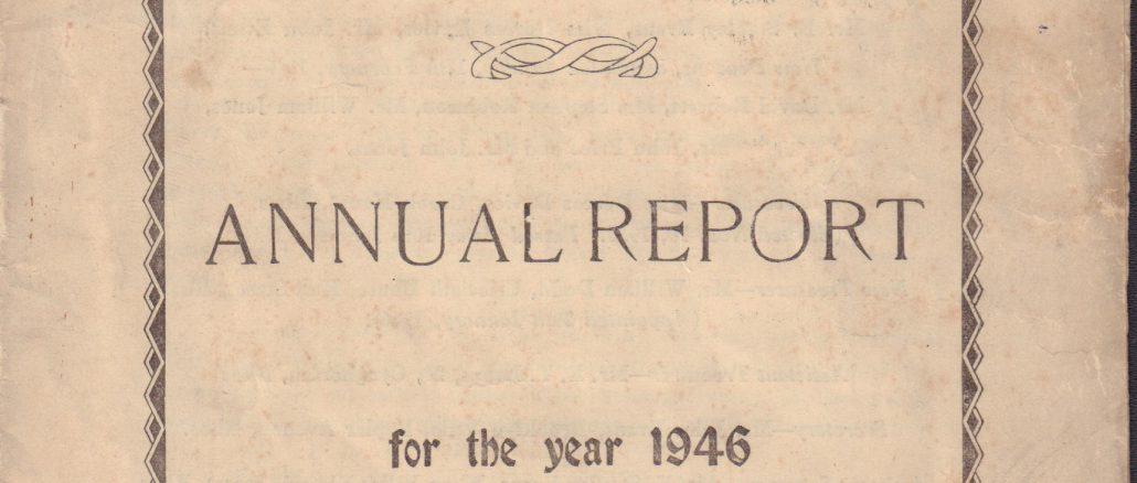 Mount Pleasant, Ponciau. Annual Report 1946