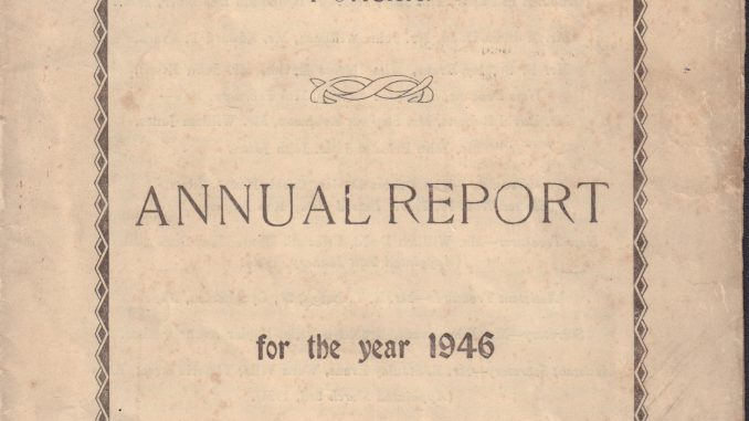 Mount Pleasant, Ponciau. Annual Report 1946